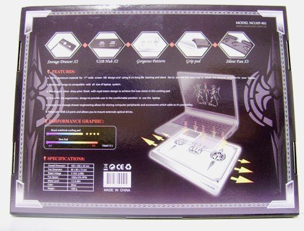 ncp2 - Recensione - Notebook Cooler: Antec vs. Evercool