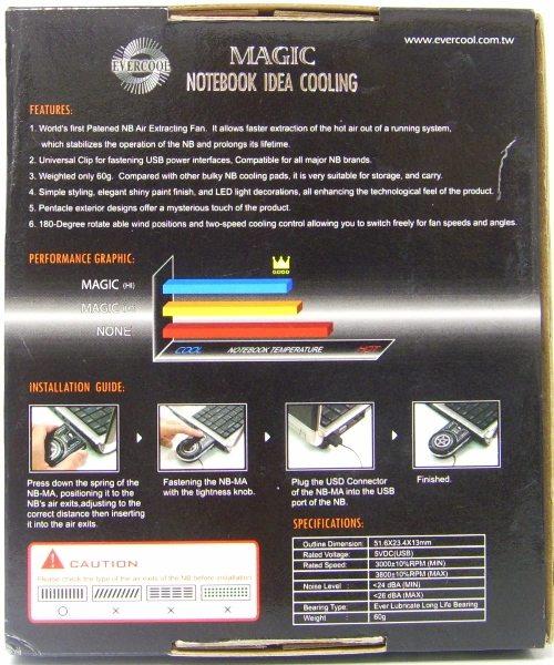 nic2 - Recensione - Notebook Cooler: Antec vs. Evercool