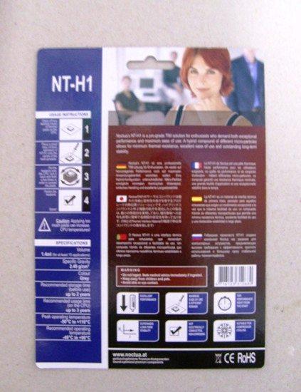 pastatermica2 - Recensione - Noctua NT-H1 vs Tuniq TX-2
