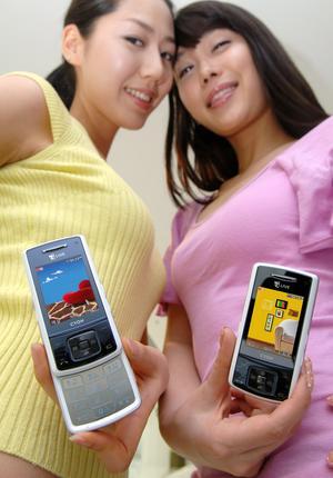 lg sh150a 2 thumb - LG presenta un cellulare con tecnologia AMOLED