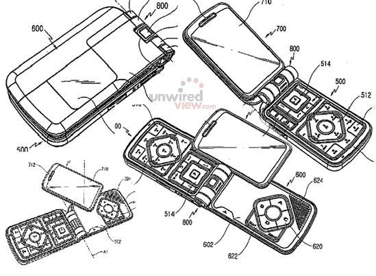 samsung gaming phone 2 - Samsung brevetta un gaming phone?