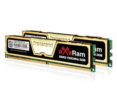 transcend 4gb axeram ddr2 1066 kit 01 - Transcend aXeRam DDR2 1066MHz