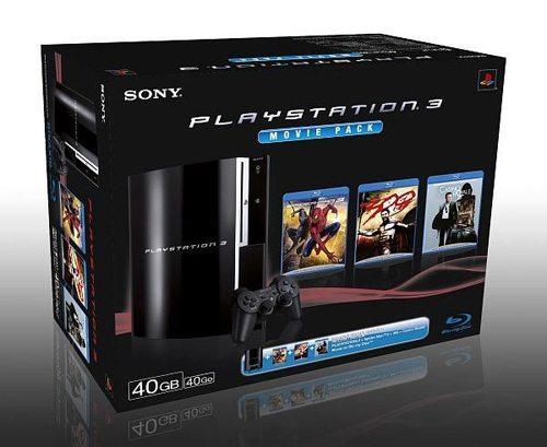 ps3 moviepack - Due nuovi bundles di PS3 in arrivo da Sony