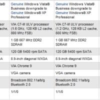 HP 2133 Mini-Note ora disponibile con Windows XP