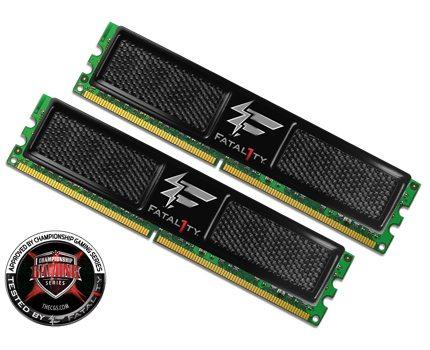 3a - Memorie DDR2 e DDR3 Fatal1ty series da OCZ