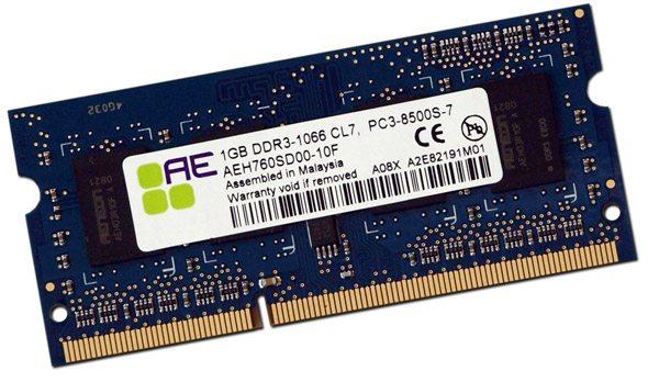 ae - Qimonda presenta memorie DDR3 Aeneon ad alte prestazione per notebook