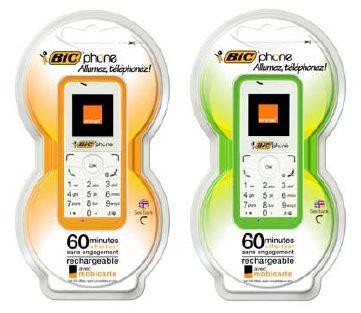 bicphone - BIC presenta BICphone, il telefono usa e getta