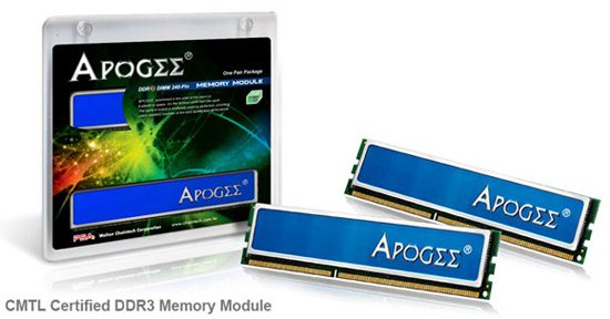 chaintech apogee ddr3 1333 cmtl kit 01 - Walton Chaintech presenta memorie APOGEE DDR3-1333 con certificazione CMTL