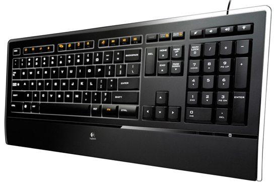 logitech illuminated keyboard 01 - Tre nuove tastiere da Logitech