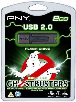 pny ghostbusters attache 2gb drive 01 - Ghostbusters movie nella nuova pendrive firmata PNY