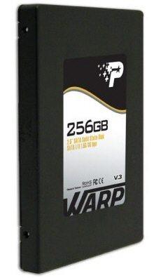 patriot 256gb warp v3 ssd 01 - Patriot presenta un nuovo SSD della serie Warp v3