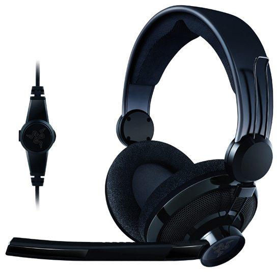 razer carcharias headphone 01 - [CES] Razer presenta il mouse Mamba e le Cuffie Carcharias