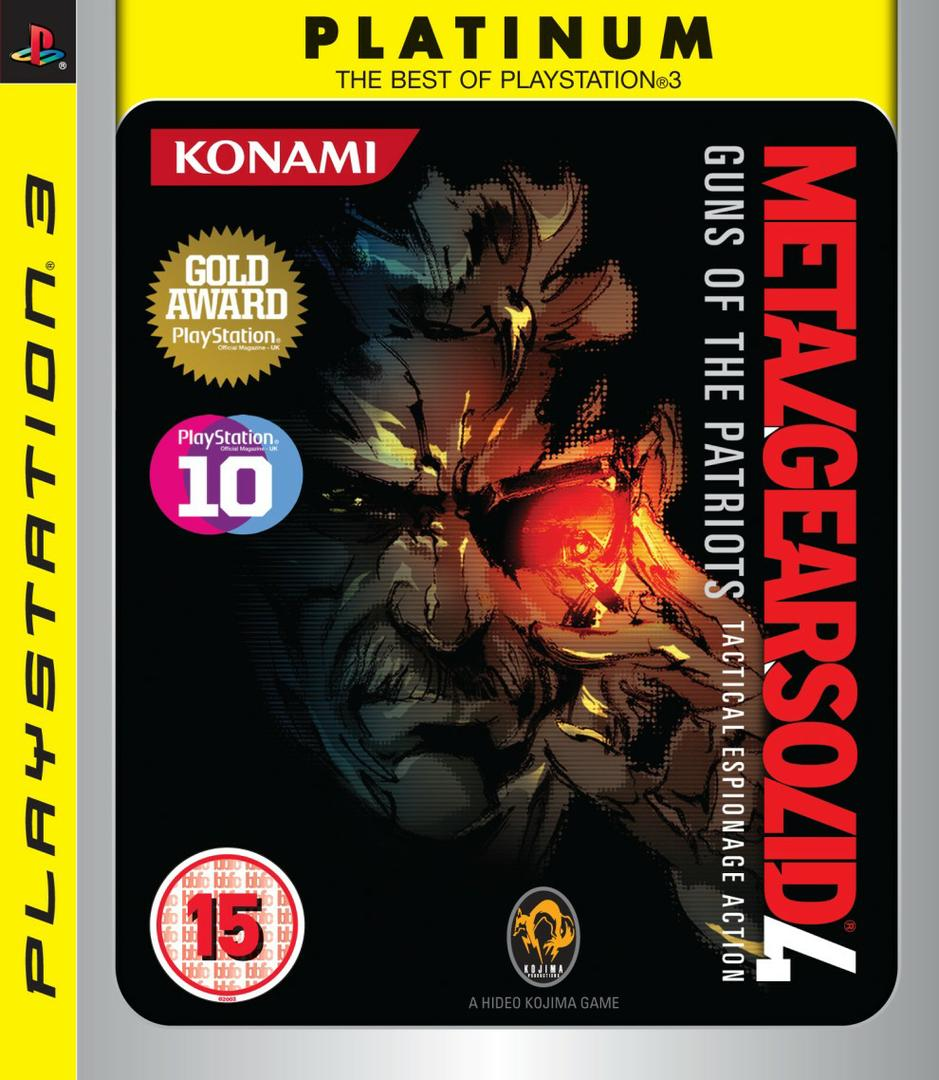 metal gear solid 4 platinum edition - Metal Gear Solid 4 disponibile in versione Platinum