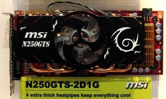 msi geforce gts 250 01 - MSI GeForce GTS 250 in anteprima al CeBIT