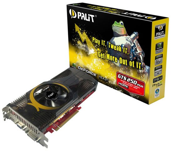 palit geforce gts 250 2gb 01 - [CeBIT '09] Da Palit tre GeForce GTS 250
