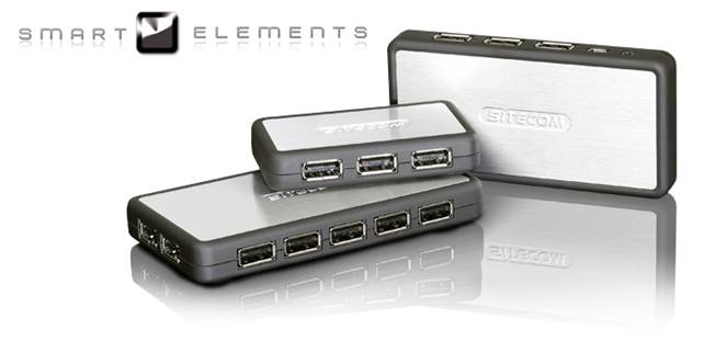 smartelements - Sitecom presenta gli hub USB Smart Elements