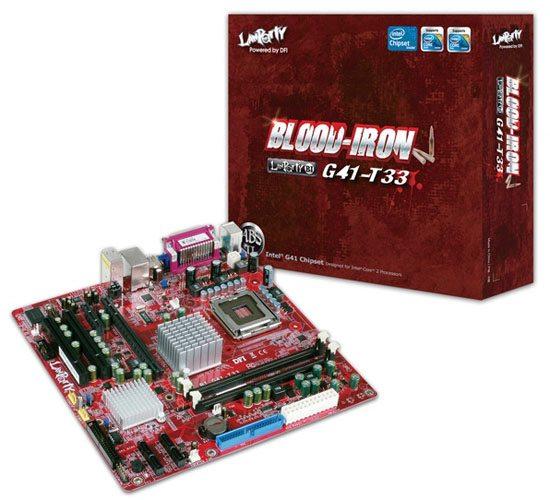 DFI Blood Iron G41 T33 board 01 - Disponibile da DFI la motherboard Blood Iron G41-T3