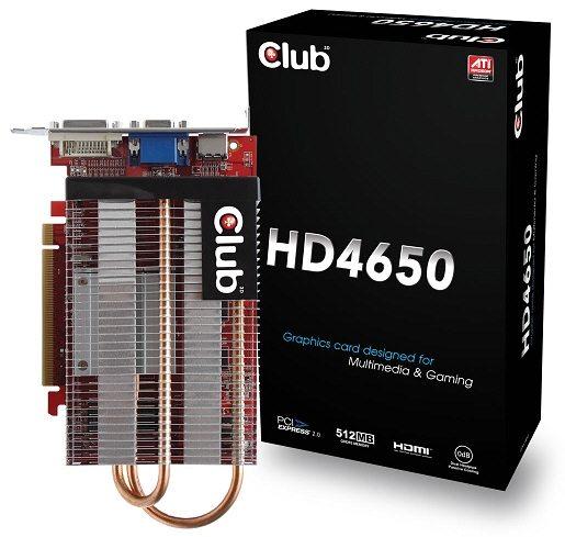 hd4650club3d - Club 3D a lavoro su Radeon HD 4650 Silent