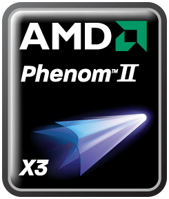 AMD Phenom II X3 logo - In arrivo da AMD una nuova CPU Phenom II basata sul Core HEKA