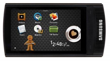 Samsung R1 01 - Ufficiale il nuovo lettore multimediale R1 Samsung
