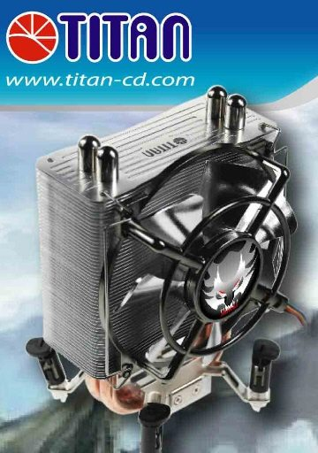 Titan Skalli cooler 01 - Titan Skalli: dissipatore per le nuove CPU Lynnfield