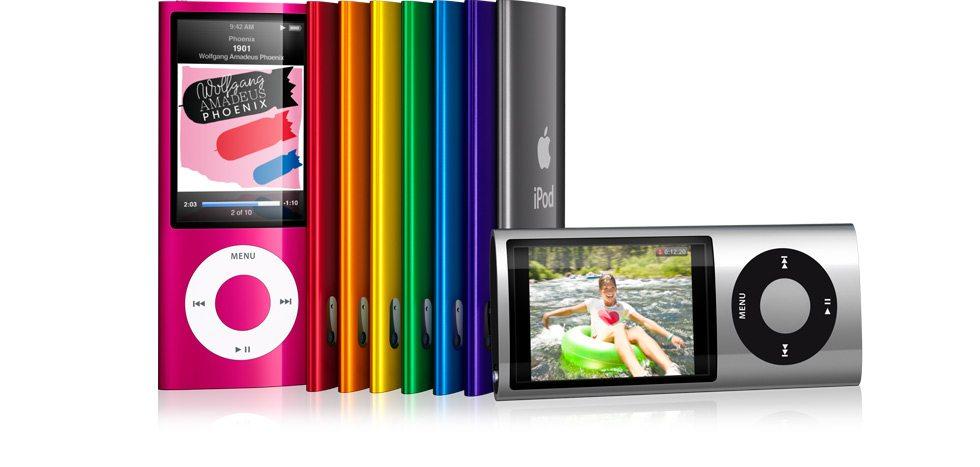 ipodnano - Apple: aggiornata la linea di lettori iPod