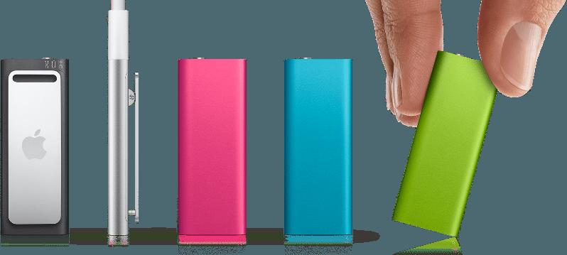 ipodshufflen - Apple: aggiornata la linea di lettori iPod