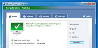 microsoft-security-essentials-10-computer-status