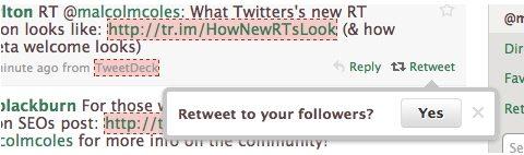 "Twitter retweet 01 - Twitter ""testa"" la funzione Retweet"