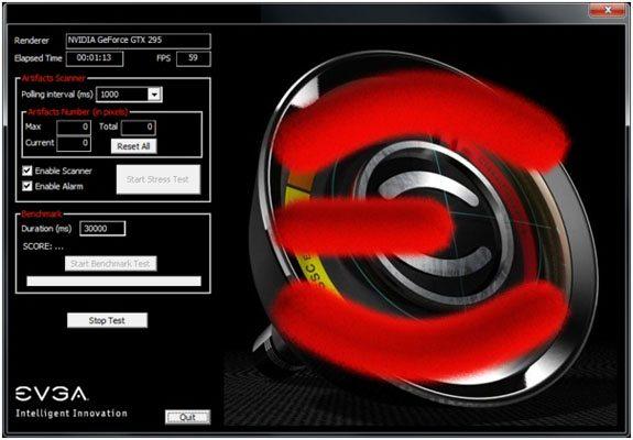 EVGA GPU test soft 01 - EVGA a lavoro su un benchmarking tool per schede video?