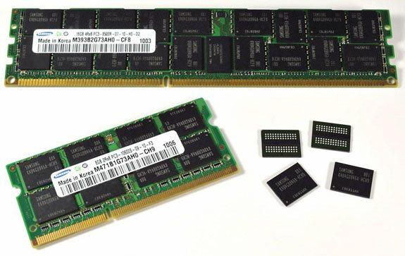 Samsung 40nm 4Gb DDR3 DRAM 01 - Da Samsung kit memoria da 4GB DDR3 a 40nm