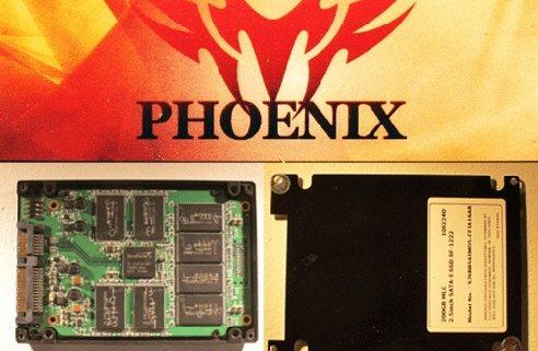 G.Skill Phoenix CeBIT 01 - Da G.Skill un hard disk SSD con controller SandForce