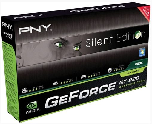 PNY GeForce GT 220 Silent Edition 01 - Da PNY una GeForce GT 220 Silent Edition