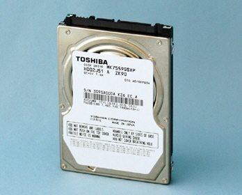 "Toshiba MK7559GSXP HDD 01 - Toshiba presenta hard disk da 750GB e 1TB con form factor da 2.5"""