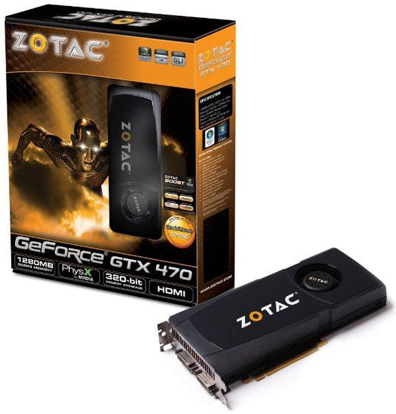 Zotac GeForce GTX 470 o01 - Immagini e informazioni per le schede Zotac GeForce GTX 480 e GTX 470
