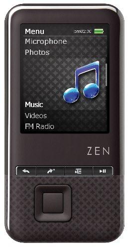 Creative ZEN Style 300 01 - Da Creative nuovi lettori MP3 ZEN X-Fi Style e ZEN Style MP3