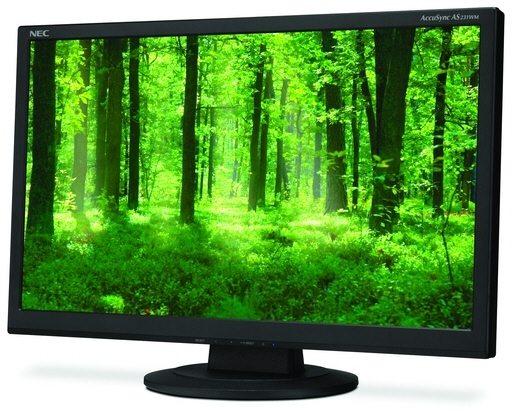 """NEC AccuSync AS231WM LCD 01 - NEC annuncia il nuovo monitor da 23"""" AccuSync AS231WM"""