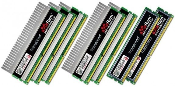 transcendaxeramddr3 - Certificazione Intel XMP per le memorie Transcend aXeRam DDR3