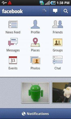 facebook - Le 10 Migliori App per Android