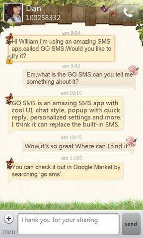 gosms - Le 10 Migliori App per Android