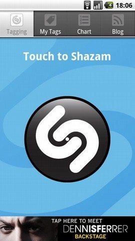 shazam - Le 10 Migliori App per Android