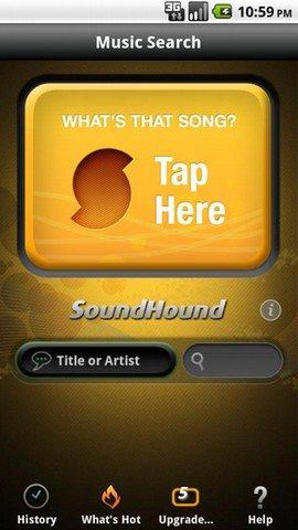 soundhound - Le 10 Migliori App per Android