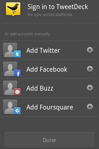 tweetdeck - Le 10 Migliori App per Android
