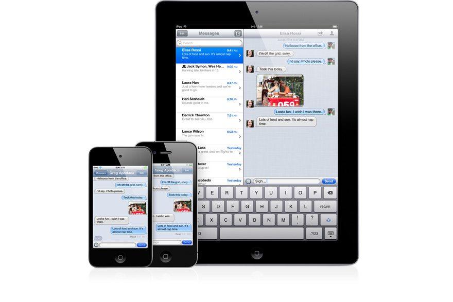 imessage - Apple annucia iOS 5: 200 nuove funzioni e novità