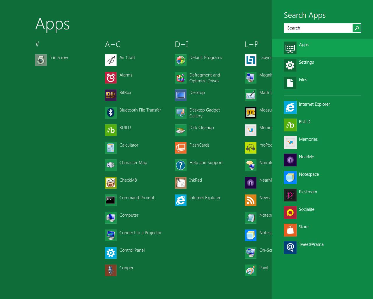Metro Search - Windows 8 e ARM: no alla compatibilità sulle applicazioni