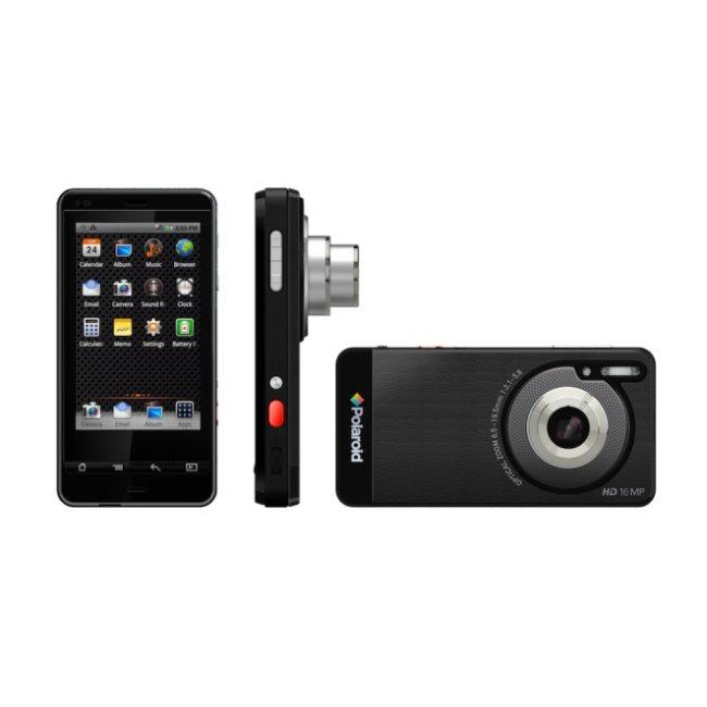 Polaroid SC1630 - [CES 2012] Polaroid SC1630: fotocamera con accesso al Market Android
