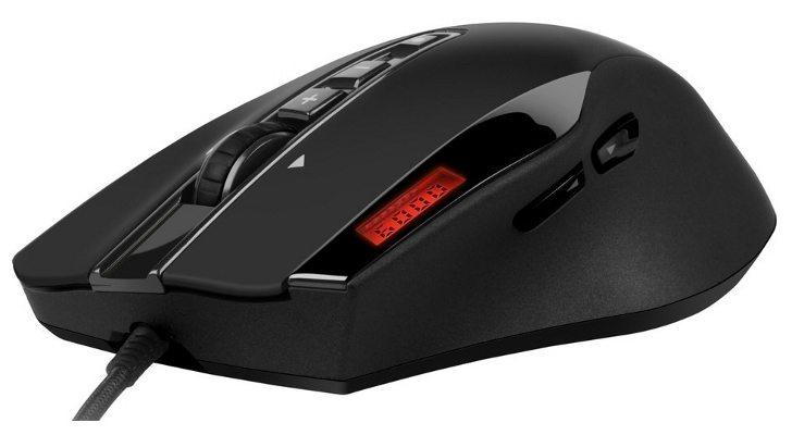 Sharkoon DarkGlider - [CeBIT 2012] Sharkoon presenta il Gaming mouse DarkGlider