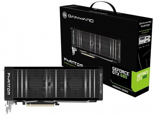 Gainward Palit Launch 4 GB GeForce GTX 680 - Da Gainward e Palit una GeForce GTX 680 da 4GB