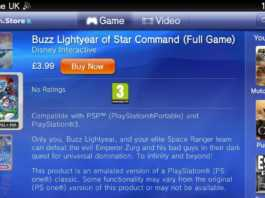 PS Vita Buzz Lightyear