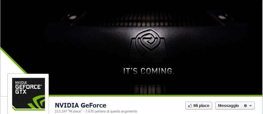 """nvidiageforce copy - NVIDIA """"IT'S COMING"""": novità in arrivo nella famiglia GeForce?"""